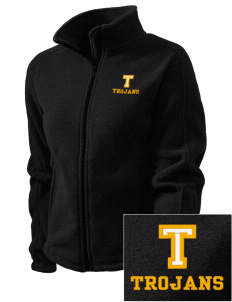 Triton College Trojans Embroidered Women's Fleece Full-Zip Jacket