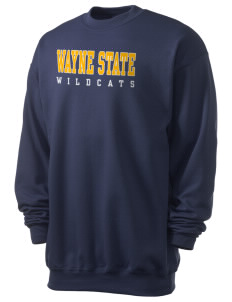 Wayne State College Wildcats Men's 7.8 oz Lightweight Crewneck Sweatshirt