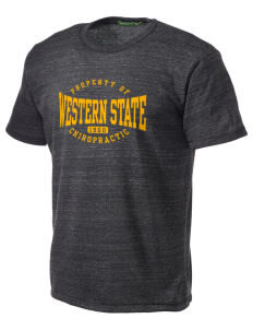 Western States Chiropractic College Chiropractic Alternative Men's Eco Heather T-shirt
