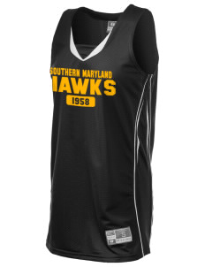 College of Southern Maryland Hawks Holloway Women's Piketon Jersey