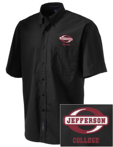 Jefferson Medical College College  Embroidered Men's Easy-Care Shirt