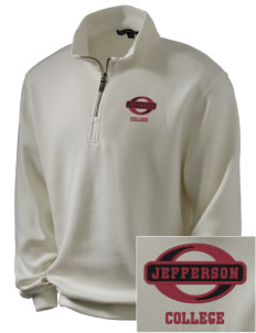 Jefferson Medical College College Embroidered Men's 1/4-Zip Sweatshirt