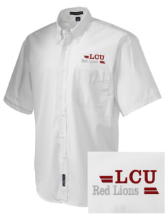 Lincoln Christian College Preachers  Embroidered Men's Easy-Care Shirt