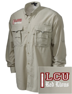 Lincoln Christian College Preachers Embroidered Men's Explorer Shirt with Pockets