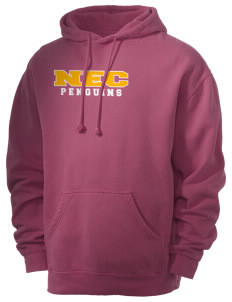 New England Conservatory of Music Penguins Men's 80/20 Pigment Dyed Hooded Sweatshirt