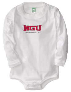 North Greenville University Crusaders  Baby Long Sleeve 1-Piece with Shoulder Snaps