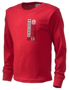 North Greenville University Crusaders  Kid's Long Sleeve T-Shirt