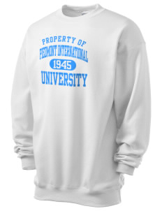 Piedmont International University BRUINS Men's 7.8 oz Lightweight Crewneck Sweatshirt