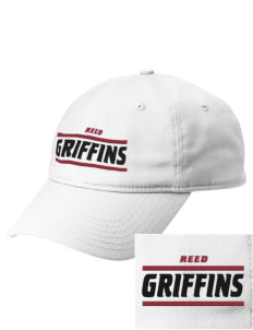 Reed College Griffins  Embroidered New Era Adjustable Unstructured Cap