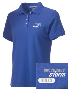 Southeast Community College Beatrice Storm Embroidered Women's Performance Plus Pique Polo