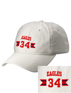 Douglas MacArthur Elementary School Eagles  Embroidered New Era Adjustable Unstructured Cap