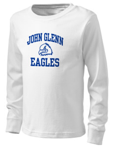 John Glenn High School Eagles  Kid's Long Sleeve T-Shirt
