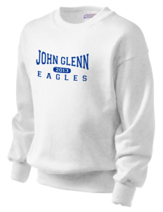 John Glenn High School Eagles Kid's Crewneck Sweatshirt