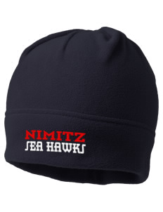 Nimitz Middle School Sea Hawks Embroidered Fleece Beanie