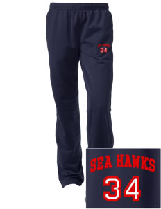 Nimitz Middle School Sea Hawks Embroidered Women's Tricot Track Pants