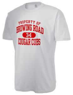 Browning Road Elementary School Panthers  Russell Men's NuBlend T-Shirt
