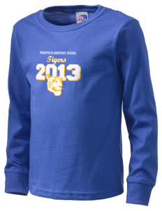 Princeton Elementary School Tigers  Kid's Long Sleeve T-Shirt