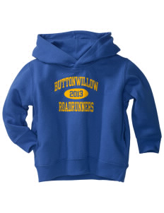 Buttonwillow Elementary School Roadrunners  Toddler Fleece Hooded Sweatshirt with Pockets
