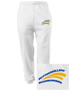 Buttonwillow Elementary School Roadrunners Embroidered Men's Sweatpants with Pockets