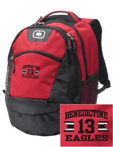 Benedictine University Eagles Embroidered OGIO Rogue Backpack