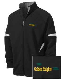 Clarkson University Golden Knights Holloway Embroidered Men's Radius Zip Front Jacket