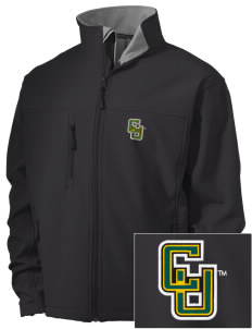 Clarkson University Golden Knights Embroidered Men's Soft Shell Jacket