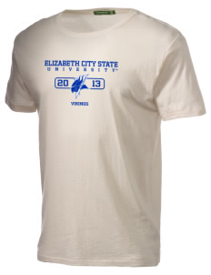 Elizabeth City State University Vikings Alternative Men's Organic Crew T-Shirt