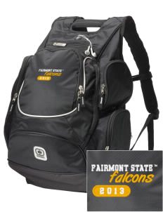 Fairmont State University Falcons  Embroidered OGIO Bounty Hunter Backpack