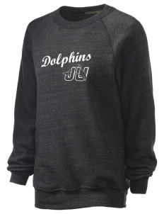 Jacksonville University Dolphins Unisex Alternative Eco-Fleece Raglan Sweatshirt