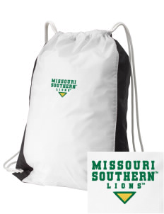 Missouri Southern State University Lions Embroidered Holloway Home and Away Cinch Bag