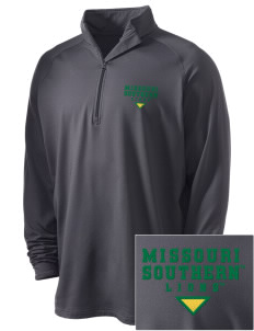 Missouri Southern State University Lions Embroidered Men's Stretched Half Zip Pullover