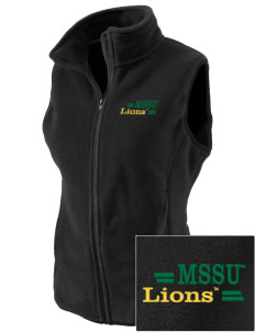 Missouri Southern State University Lions Embroidered Women's Fleece Vest