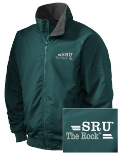 Slippery Rock University The Rock Embroidered Holloway Men's Tall Jacket