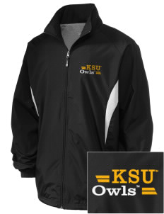 Kennesaw State University Owls Embroidered Holloway Men's Full-Zip Jacket