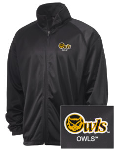 Kennesaw State University Owls Embroidered Men's Tricot Track Jacket
