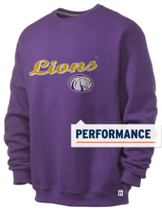 University of North Alabama Lions  Russell Men's Dri-Power Crewneck Sweatshirt