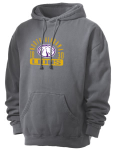 University of North Alabama Lions Men's 80/20 Pigment Dyed Hooded Sweatshirt