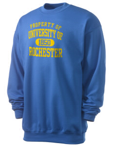 University of Rochester Yellowjackets Men's 7.8 oz Lightweight Crewneck Sweatshirt