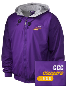 Genesee Community College Cougars Embroidered Holloway Men's Hooded Jacket