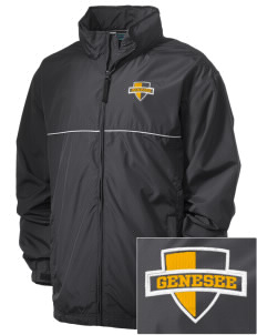 Genesee Community College Cougars Embroidered Men's Element Jacket