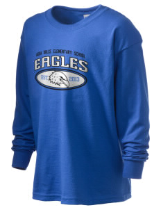 Agua Dulce Elementary School Eagles Kid's 6.1 oz Long Sleeve Ultra Cotton T-Shirt
