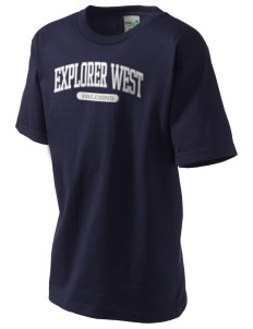 Explorer West Middle School Falcons Kid's Organic T-Shirt