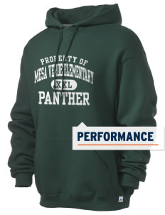 Mesa Verde Elementary School Panther Russell Men's Dri-Power Hooded Sweatshirt