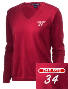 The DTC The DTC Embroidered Women's V-Neck Sweater