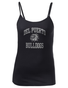 Del Puerto High School Bulldogs Women's Louise Longer Length Tank
