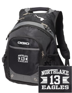 Northlake Elementary School Eagles Embroidered OGIO Fugitive Backpack