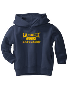La Salle University Explorers  Toddler Fleece Hooded Sweatshirt with Pockets