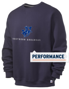 Southern Arkansas University Muleriders  Russell Men's Dri-Power Crewneck Sweatshirt