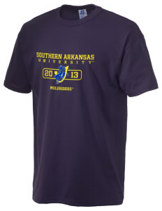 Southern Arkansas University Muleriders  Russell Men's NuBlend T-Shirt