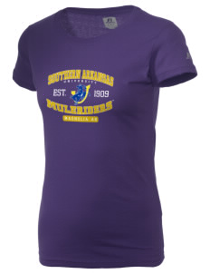 Southern Arkansas University Muleriders  Russell Women's Campus T-Shirt